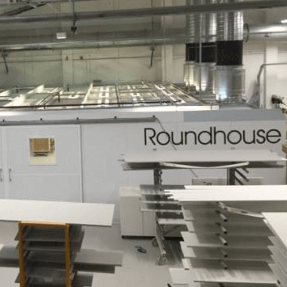 Roundhouse Spray Booth