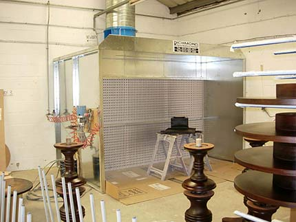 Richmond Spray Booths - Dry Filter Spray Booths Special Offer